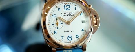 NEW!!! Panerai 756 Luminor Due Goldtech™ 38 mm S.V (NEW THAI AD 11/2020)