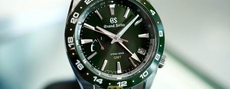 Grand Seiko Sport Collection Green Ceramic Spring Drive GMT 40.5 mm Ref.SBGE257 (Thai AD 08/2020)
