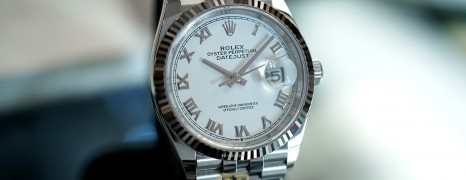 Rolex Datejust Jubilee White Dial 36 mm Ref.126234 (Thai AD 07/2020)