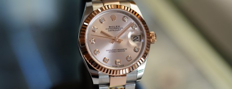 NEW!! Rolex Datejust Everose Rolesor Pink Diamond 31 mm REF.178271 (NEW THAI AD 10/2020)