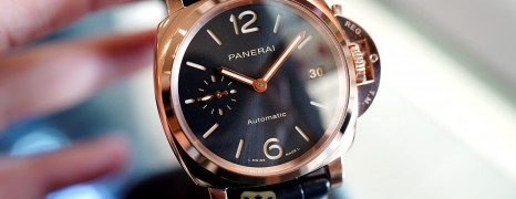NEW!!! Panerai 1029 Luminor Due Goldtech™ 38 mm S.V (NEW THAI AD 10/2020)