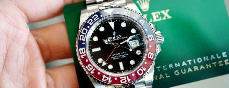 NEW!!! Rolex GMT-Master II Pepsi Jubilee 40 mm Ref.126710BLRO (NEW 11/2020)