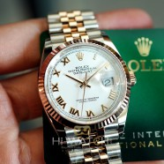 NEW!!! Rolex Datejust 2K Pink Gold 18K White Roman Dial Jubilee 36 mm REF.126231 (NEW CARD 11/2020)