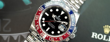 Rolex GMT-Master II Pepsi Jubilee 40 mm Ref.126710BLRO (02/2019)