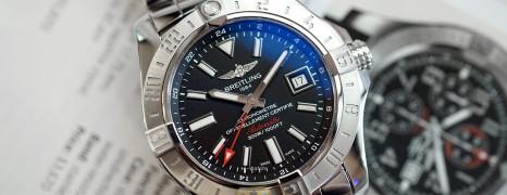 Breitling Avenger II GMT Black Dial 43 mm (02/2017)