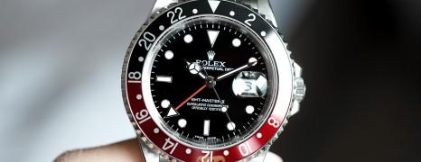 """Rolex GMT-Master II """"Coke"""" 40 mm Ref.16710 (การ์ดแข็ง 2008)"""