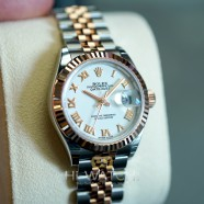NEW!! Rolex Lady-Datejust 2K Everose Gold White Roman Dial 28 mm REF.279171 (NEW Thai AD 11/2020)