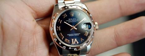 Rolex Datejust Everose Rolesor Purple VI Diamond 31 mm REF.178341 (07/2012)