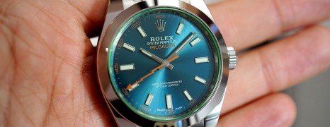 Rolex Milgauss Z-Blue Dial 40 MM Ref. 116400GV (Thai AD 07/2020)