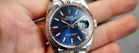 NEW!! Rolex Datejust Jubilee Blue Dial 36 mm Ref.126234 (NEW Thai AD 10/2020)