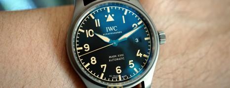 IWC Pilot's Watch Mark XVIII Heritage Titanium 40 mm Ref.IW327006 (Thai AD 09/2020)