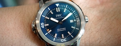 """IWC Aquatimer Automatic Blue Dial Edition """"Expedition Jacques-Yves Cousteau"""" 42 mm Ref.IW329005 (Thai AD 07/2020)"""