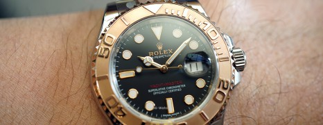 Rolex Yacht-Master 40 Everose Gold Black Dial 40 mm Ref.116621 (06/2017)