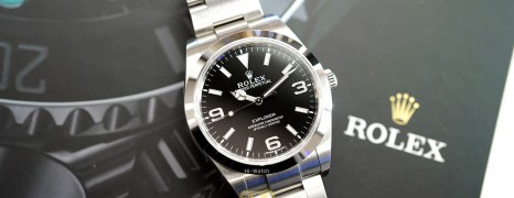 Rolex Explorer I 39 mm Ref.214270 (Thai AD 10/2019)