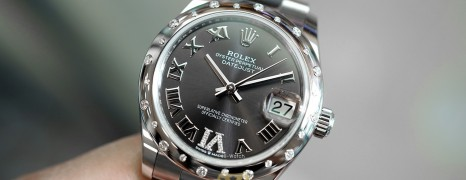 NEW!! Rolex Lady Datejust Dark Grey Dial Diamond Bezel 31 mm Ref. 278344RBR (เพชรกระจาย เพชร VI)(NEW 11/2020)