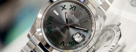 Rolex Datejust 41 Slate Grey Roman (Wimbledon) Dial 41 mm Ref.126300 (06/2019)