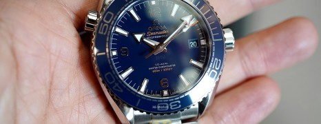 Omega Seamaster Planet Ocean Co-Axial Master Chronometer Blue Dial 43.5 mm (11/2018)