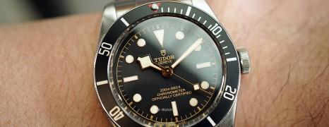 Tudor Heritage Black Bay Black 41 mm (Thai AD 02/2019)
