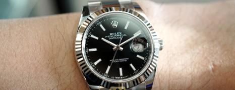 NEW!! Rolex Datejust 41 WhiteGold Bezel Black Dial 41 mm Ref.126334 (NEW Card Thai AD 12/2020)