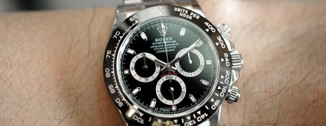 NOS!! Rolex Cosmograph Daytona Ceramic Black Dial 40 mm Ref.116500LN (NOS Thai AD 12/2016)