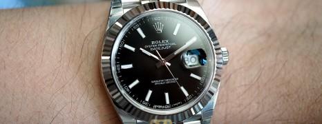 Rolex Datejust 41 Jubilee WhiteGold Bezel Black Dial 41 mm Ref.126334 (04/2018)