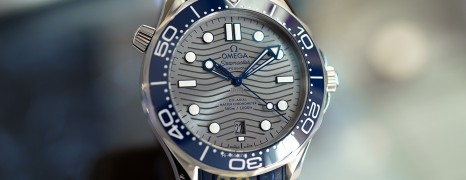 Omega Seamaster Diver 300M Omega Co-Axial Master Chronometer Grey Dial 42 mm (Thai AD 12/2020)