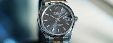 NEW!! Rolex Datejust Dark Rodium Dial Boy Size 31 mm REF.278240 (NEW Thai AD 01/2021)