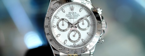 Rolex Cosmograph Daytona White Dial 40 mm REF.116520 G Series (08/2011)