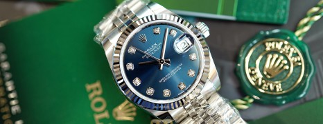 NEW!!! Rolex Datejust Jubilee Blue Dial Diamond 31 mm REF.178274 (NEW Thai AD 12/2020)