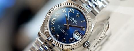 NEW!!! Rolex Datejust Jubilee Blue Roman Dial 31 mm REF.178274 (NEW Thai AD 12/2020)