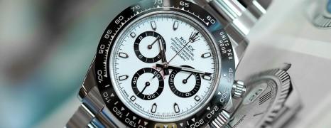 Rolex Cosmograph Daytona Ceramic White Dial 40 mm Ref.116500LN (03/2019)