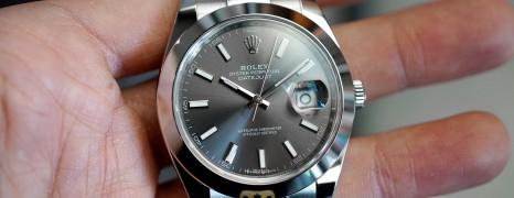 Rolex Datejust 41 Dark Rodium Dial 41 mm Ref.126300 (Thai AD 11/2020)