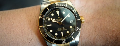 Tudor Heritage Black Bay Steel and Gold 41 mm (Thai AD 09/2019)