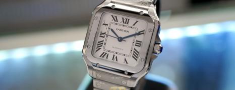 NEW!!! Cartier Santos 100 Medium Size 35.1 mm Ref.WSSA0029 (NEW 12/2020)