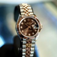 NEW!! Rolex Lady-Datejust 2K Everose Gold Chocolate Diamond Dial 28 mm REF.279171 (NEW 02/2021)