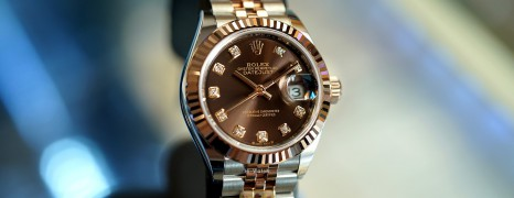 NEW!! Rolex Lady-Datejust 2K Everose Gold Chocolate Diamond Dial 28 mm REF.279171 (NEW 02/2021)