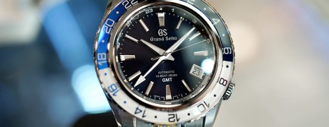 Grand Seiko Sport Collection Blue Dial Sapphire Bezel 44.2 mm Ref.SBGJ237 (Thai AD 12/2020)