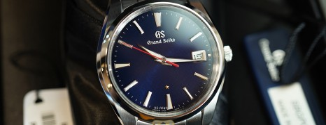 Grand Seiko Heritage Collection Limited 2500 Pcs. Blue Dial 40 mm Ref.SBGP007 (Thai AD 07/2020)