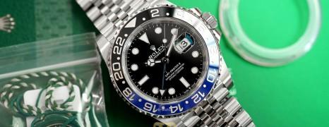 NEW!! Rolex GMT-Master II Black Blue Ceramic Jubilee 40 mm Ref.126710BLNR (Batman)(NEW CARD 01/2021)