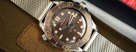 "Omega Seamaster Diver 300M ""007 Edition"" 42 mm : NO TIME TO DIE (Thai AD 11/2020)"