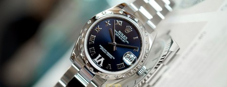 Rolex Datejust Blue Dial Diamond Bezel 31 mm Ref.178344 (เพชรกระจาย เพชร VI) (Fullset 04/2015)