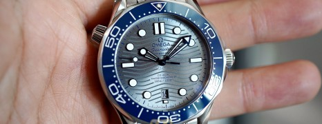 NEW!!! Omega Seamaster Diver 300M Omega Master Co-Axial Grey Dial 42 mm (NEW 01/2021)