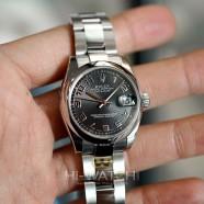 Rolex Datejust Black Concentric Dial Boy Size 31 mm REF.178240 (02/2016)
