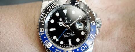 Rolex GMT-Master II Black Dial Black Blue Ceramic REF.116710BLNR (Batman)(06/2019)