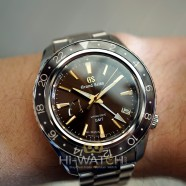 """Grand Seiko Spring Drive GMT Brown Dial """"Asia Limited Edition 140 Pieces"""" 44 mm Ref.SBGE267 (12/2020)"""