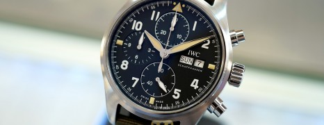 IWC Pilot's Watch Chronograph Spitfire 41 mm Ref.IW387901 (Thai AD 12/2020)