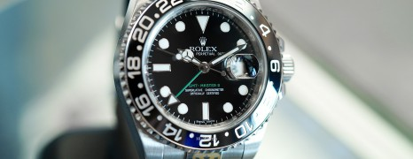 Rolex GMT-Master II Black Ceramic Green Hand 40 mm REF.116710LN (Thai AD 09/2011)