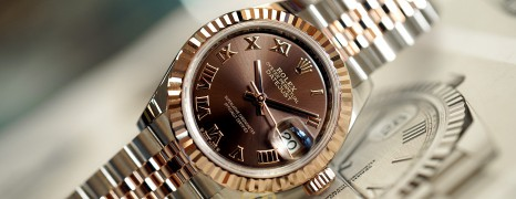 NEW!! Rolex Lady-Datejust 2K Everose Gold Chocolate Dial 28 mm REF.279171 (NEW 03/2021)