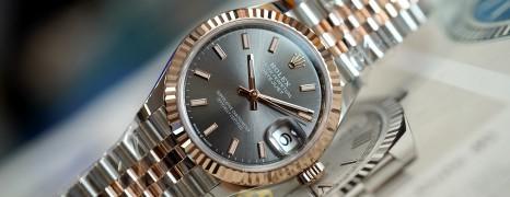 NEW!!! Rolex Datejust Everose Rolesor Dark Rodium 31 mm REF.278271 (New Thai AD 02/2021)