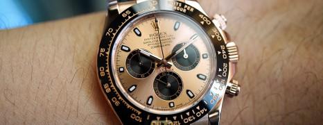 Rolex Cosmograph Daytona Everose Gold Pinkgold Dial 40 mm Ref.116515LN (Thai AD 04/2016)